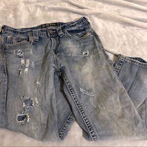 Buckle Black men's jeans 👖